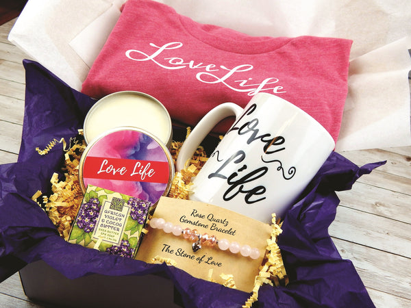 Love Life Gift Box - Inspirational Gift Baskets