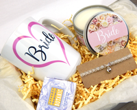 Bride Gift Box - Engagement Gift For Friend - Bridal Gift Basket