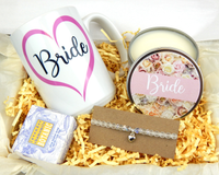 bride gift box for engaged friend daughter shower