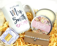 personalized bride mug bridal gift box