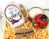 gift basket for wine lover this may be wine