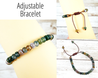 adjustable fancy jasper bracelet