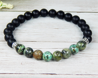 mens african turquoise jewelry handmade bracelets for men