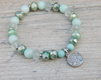 tree of life amazonite bracelet