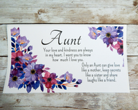 Aunt Gift to Send for Birthday, Christmas or Any Occasion