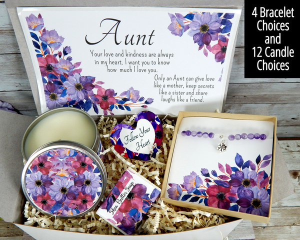 Aunt Gift Basket - Gift to Send to My Aunt - Gifts for Auntie