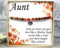 Aunt Gift - Only An Aunt Can Give Hugs Like a Mother - Birthday Gift for Aunt