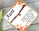 aunt gift, only an aunt, aunt birthday gift, aunt bracelet, personalized aunt, engraved aunt gift, aunt jewelry, bae gift, bae bracelet