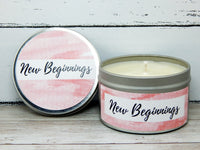 baby scented candle for expecting pregnant woman