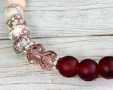 handmade jewelry for women red bracelet