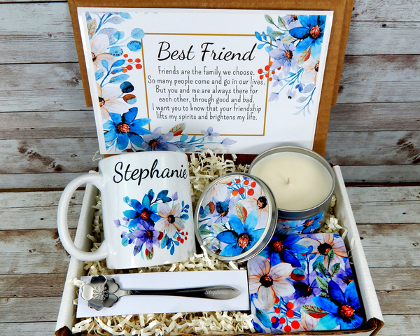 Personalized Gift For Best Friend with Coffee Mug