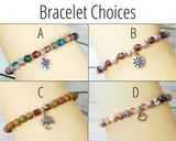 bracelet choices for birthday gift box