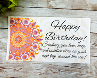 mandala card for birthday