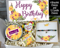 birthday gift box to send to her