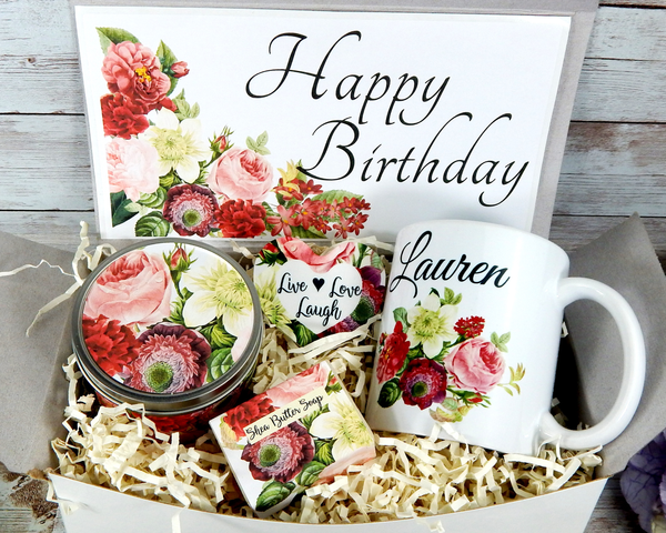 birthday gift basket for her