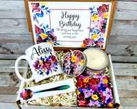 personalized birthday gift with coffee mug