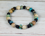 boho bracelets gemstone beaded bracelet for women