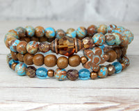 bohemian bracelets for women stack bracelets