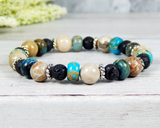 hippie chic jewelry for women gemstone bracelet