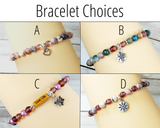 bracelet choices for miss you gift box