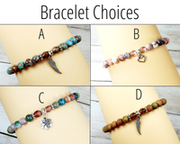 bracelets for fall sympathy gift