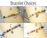 bracelet choices for new mom gift box