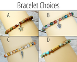 bracelet  choices for recovery gift box