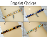 bracelet choice for loss of father gift box