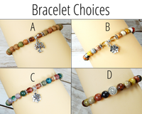 bracelet choices for nature gift box