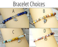 bracelet choices for new mom gift basket