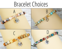 bracelet choices for gift basket