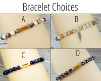 bracelet choices for strength basket