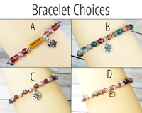 bracelet choices for thank you gifts