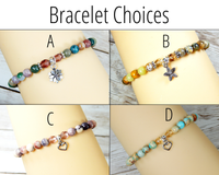 bracelets for gift basket