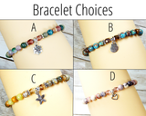 bracelet choices for birthday gift basket