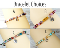 bracelet choices for mom gift basket