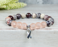 awareness bracelets pink jewelry for women