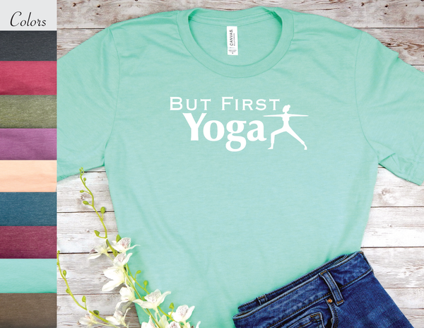 yoga t-shirt for yogis