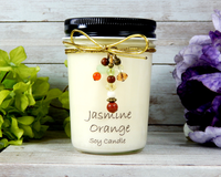 decorative scented soy candle