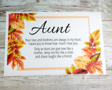 card for aunt