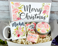 personalized christmas gift basket to send