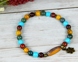 beaded bracelets for women colorful gemstone jewelry