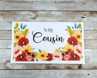 cousin card