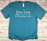 blue dad shirt dad life is the best life t-shirt birthday fathers day