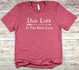 pink dad shirt dad life is the best life t-shirt birthday fathers day
