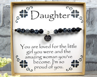 Daughter Gift - Engraved Jewelry for Daughter - Personalized Gift for Daughter -