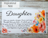 inspirational card for daughter