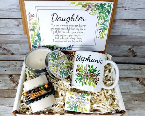 nature themed daughter gift basket delivered
