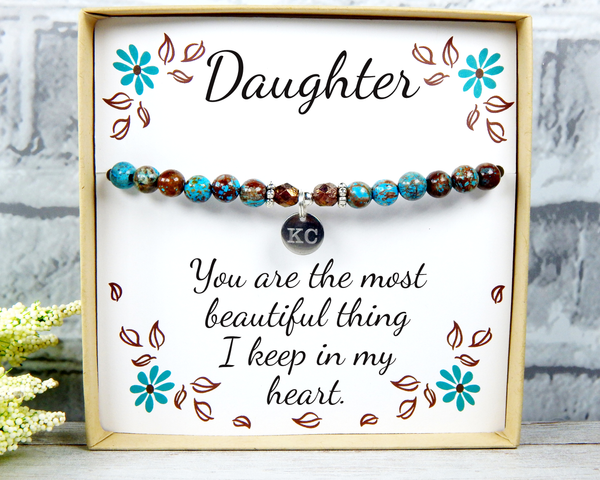 Daughter Gift - Engraved Jewelry for Daughter - Personalized Gift for Daughter