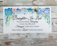 daughter in law card